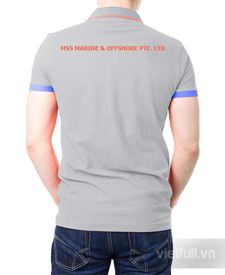 Áo thun quảng cáo mss marine