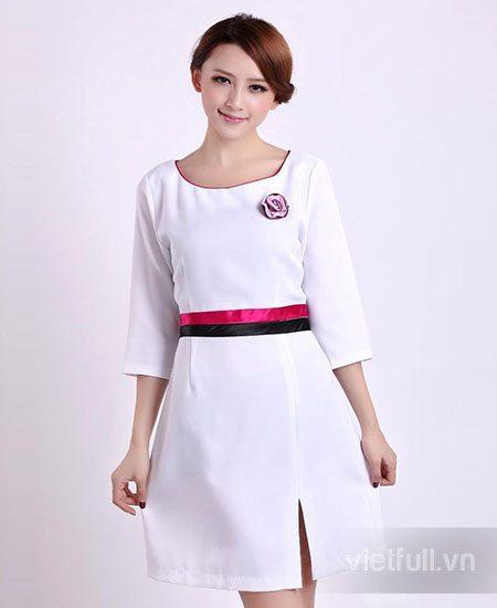 Đầm đồng phục quảng cáo