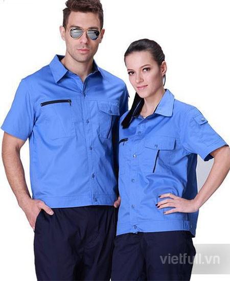 Áo đồng phục công nhân