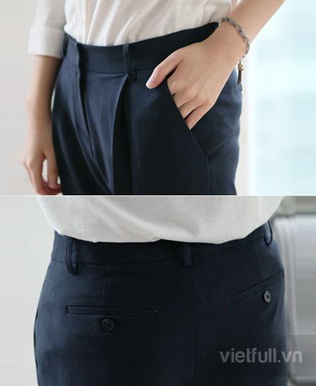 Kiểu quần tây nữ văn phòng
