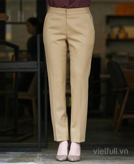 Các mẫu quần vải nữ đẹp