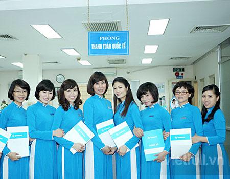 Đồng phục ngân hàng eximbank