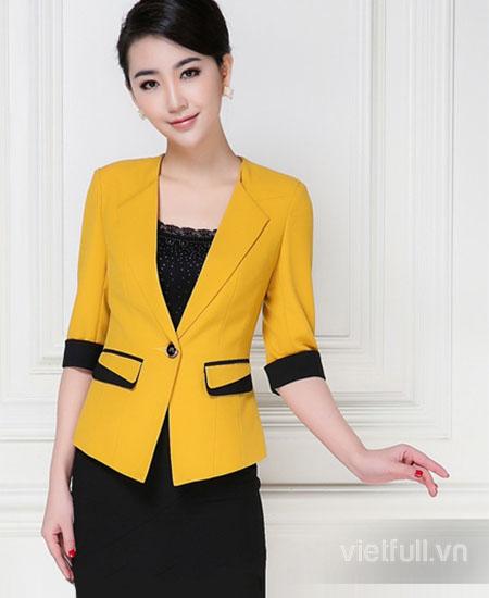 Đồng phục vest nữ ấn tượng
