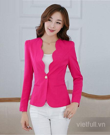 Đồng phục vest nữ công sở đẹp