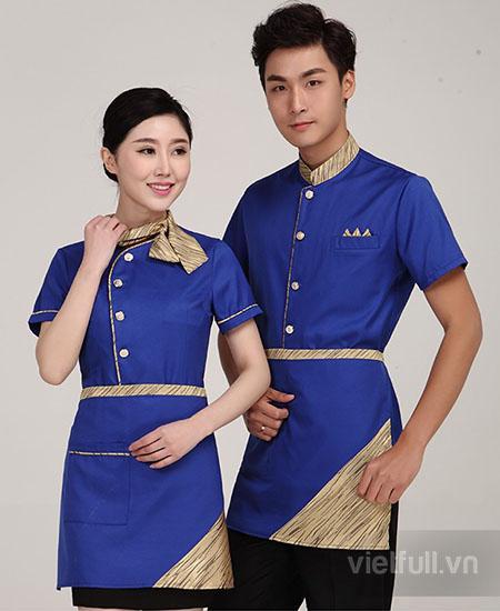 Mẫu đồng phục phục vụ đẹp