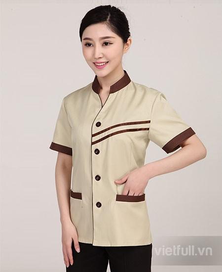 Mẫu đồng phục tạp vụ đẹp