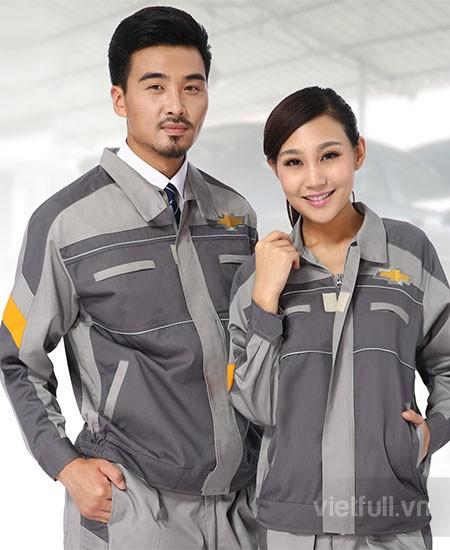 May áo công nhân