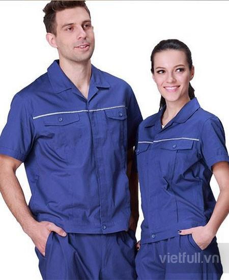 May đồng phục công nhân giá rẻ