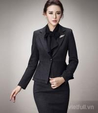 Vest nữ đồng phục đẹp