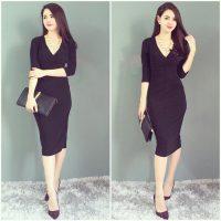 Biến hóa hoàn hảo cùng những bộ váy công sở đẹp