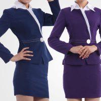 Duyên dáng với những mẫu đồng phục lễ tân 2016