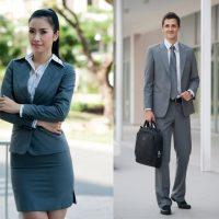 Tổng hợp những mẫu đồng phục văn phòng đẹp, sang trọng